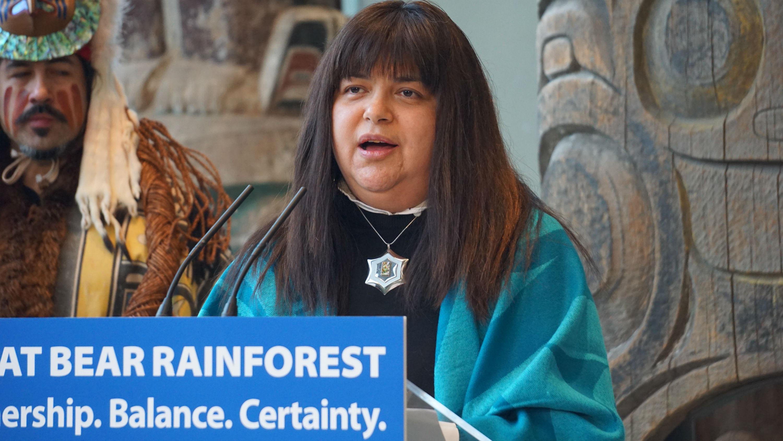 Marilyn Slett, Heiltsuk Council, Coastal First Nations, Great Bear Rainforest