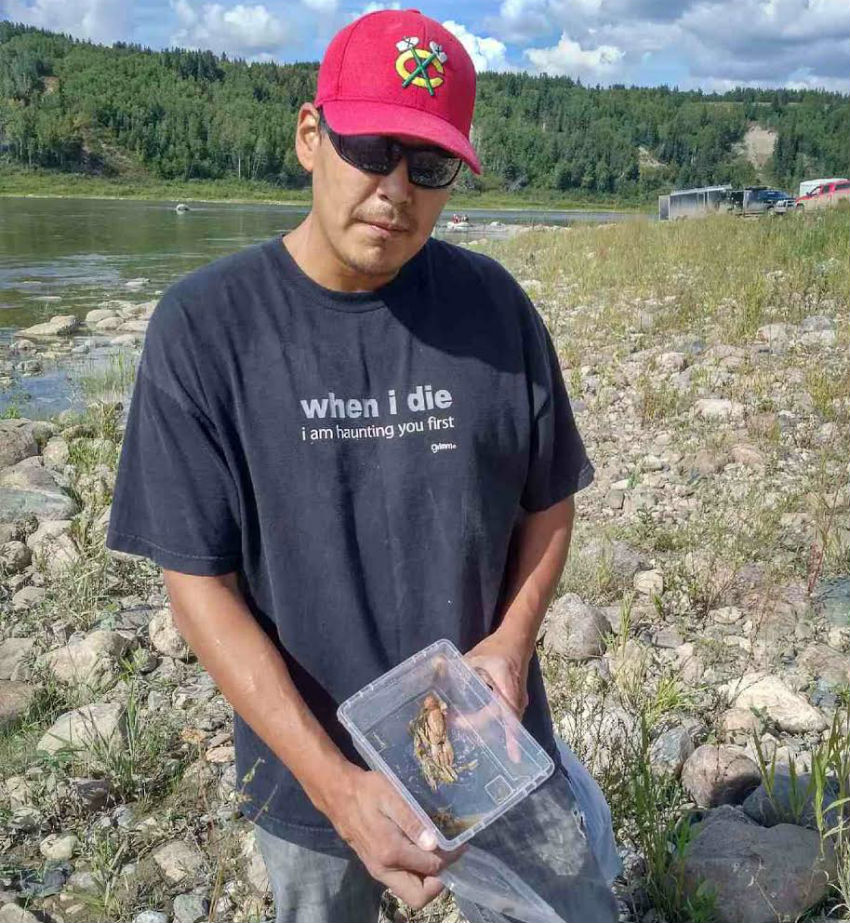 James Smith Cree Nation, impacted wildlife, crayfish, Husky Energy, Husky oil spill, North Saskatchewan River