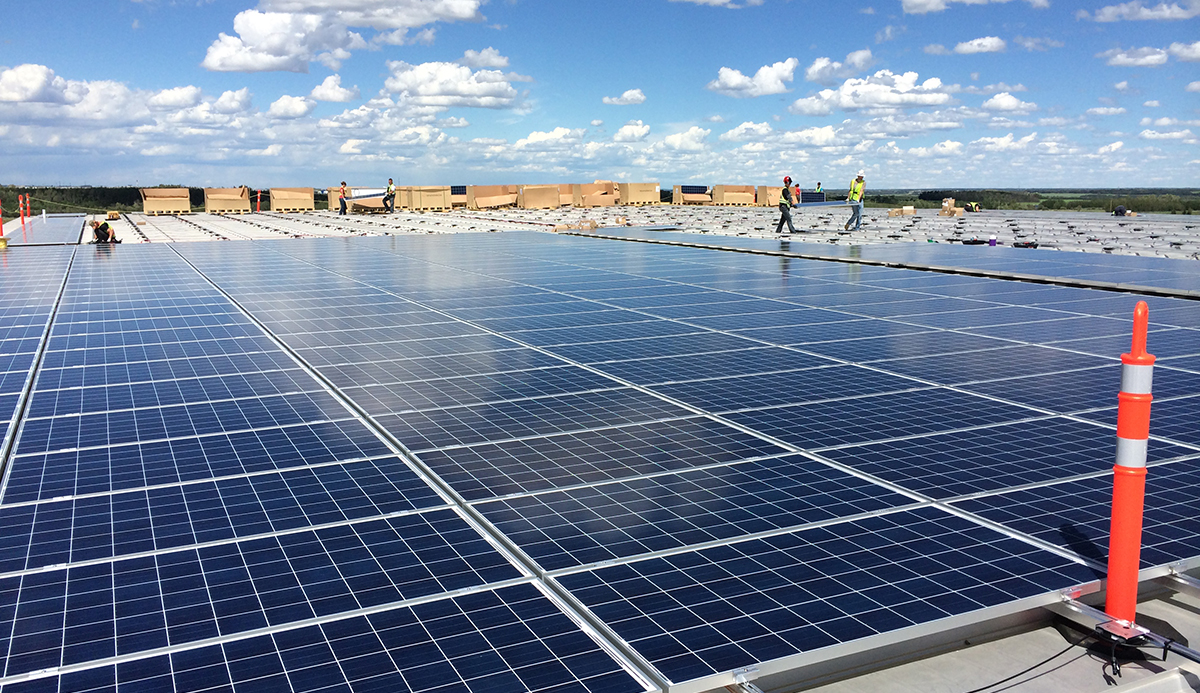 Energy positive homes are a huge opportunity for canada for Solar installers canada