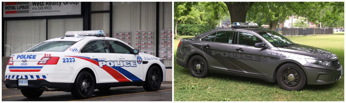 Why did Canadian police cars become so menacing ...