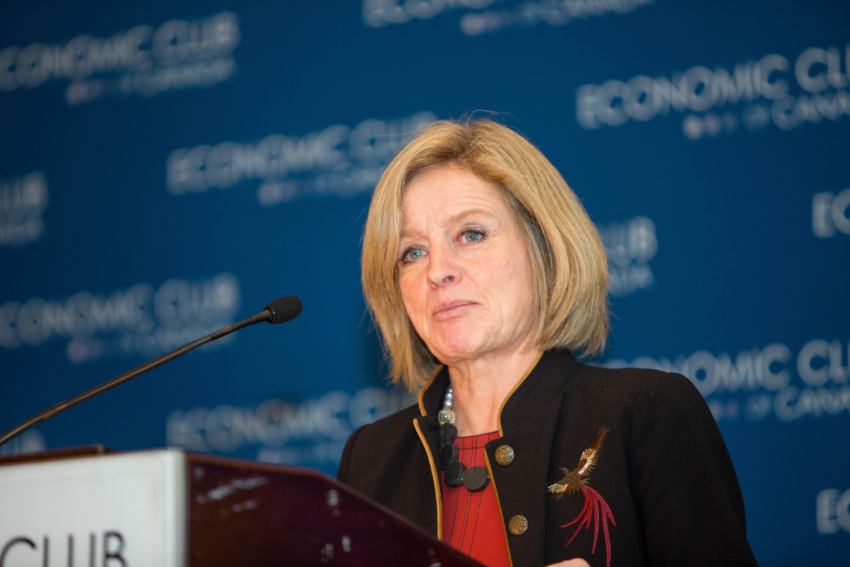 Alberta S Rachel Notley Urges Trudeau To Speak Up For