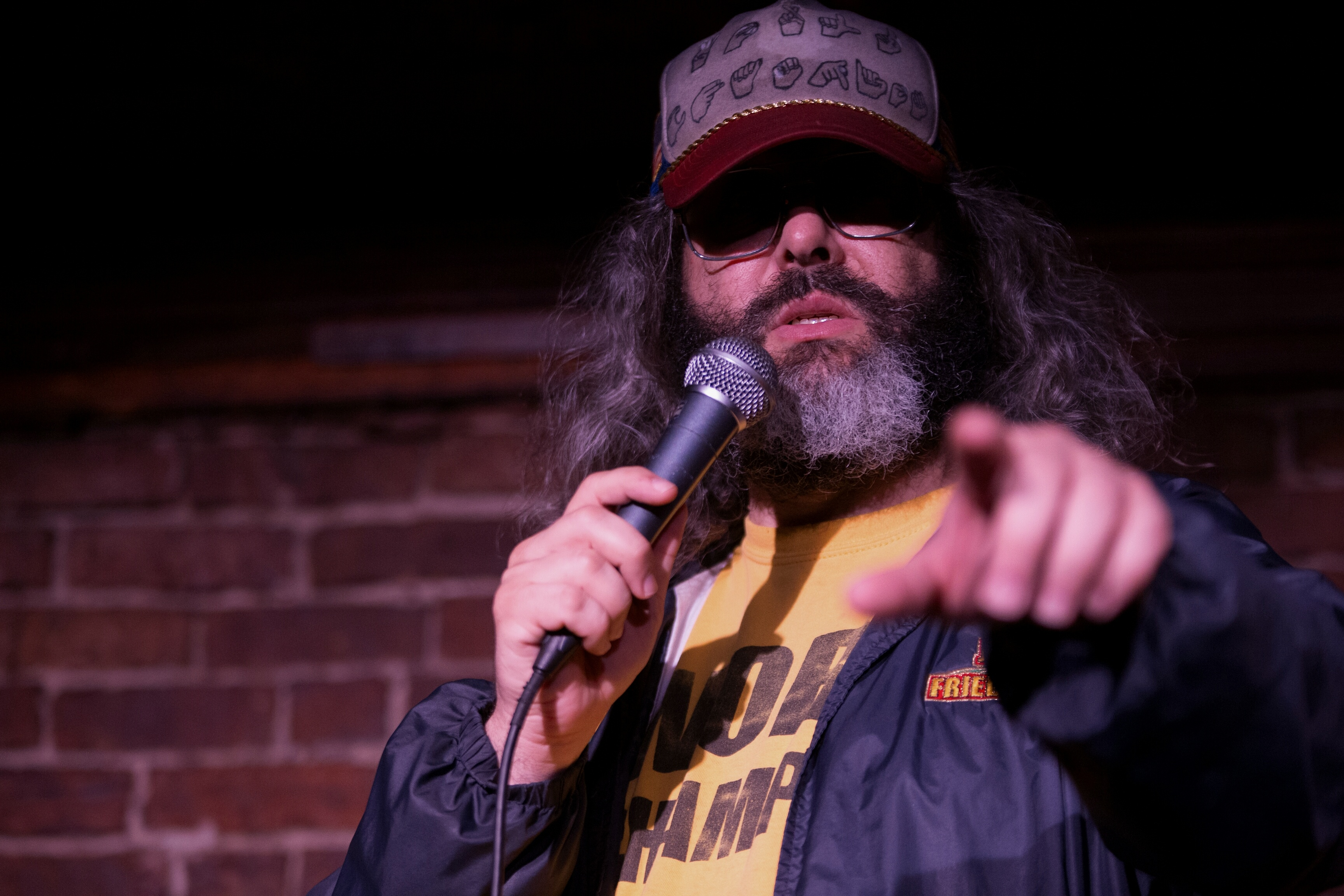 Comic Judah Friedlander slams Hollywood