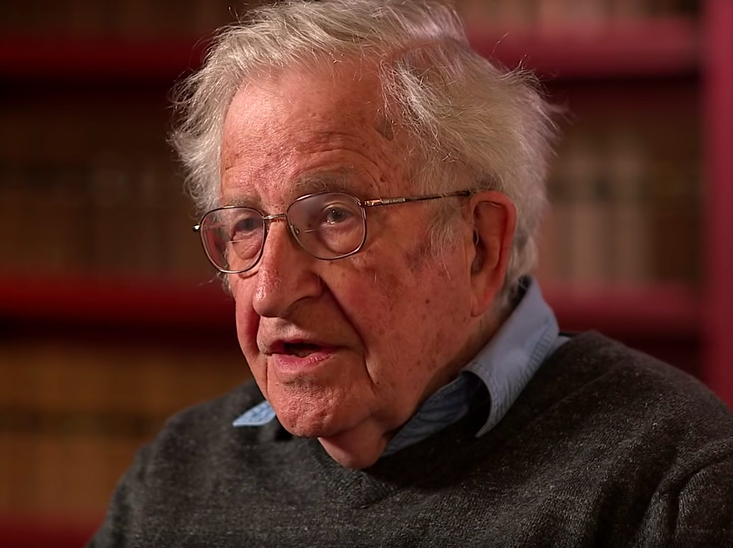 Noam Chomsky: 'In a couple of generations, organized human society