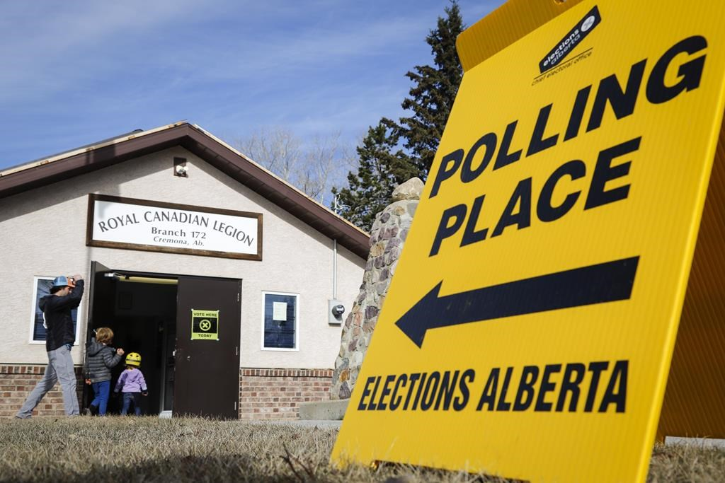 Nearly 70 per cent of eligible Albertans voted in provincial election