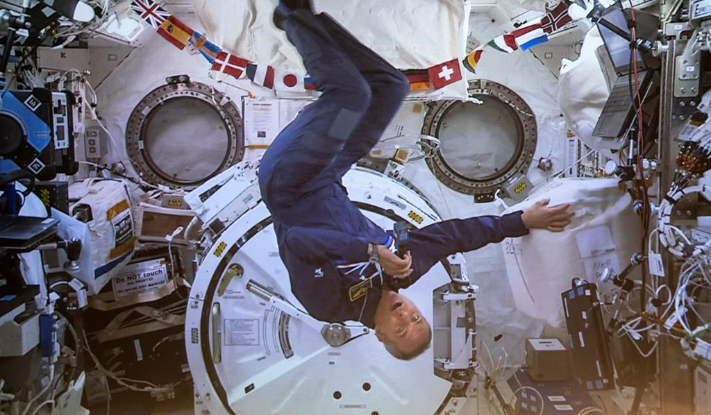 Astronaut David Saint-Jacques returns to Earth, sets Canadian space