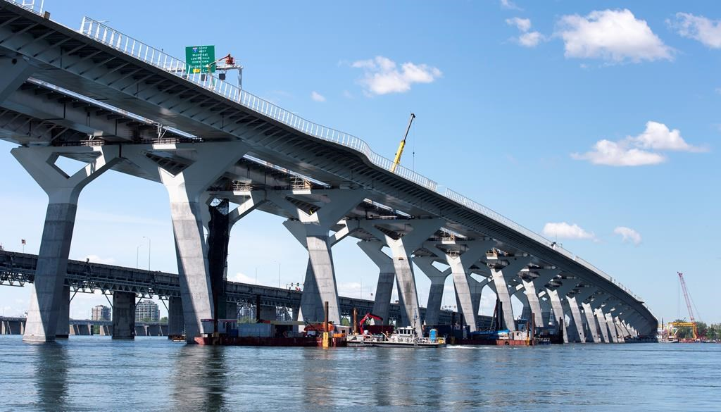 Montreal's new, $4.4-billion Champlain Bridge opens to first traffic