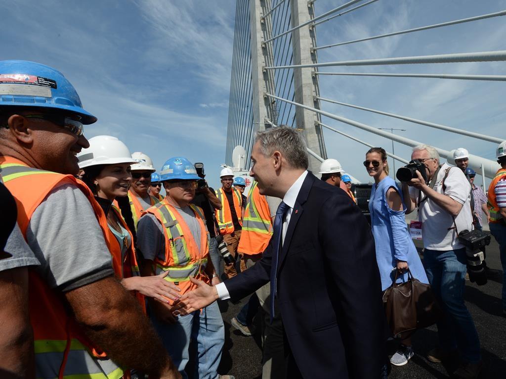 Montreal's new Samuel De Champlain Bridge officially inaugurated