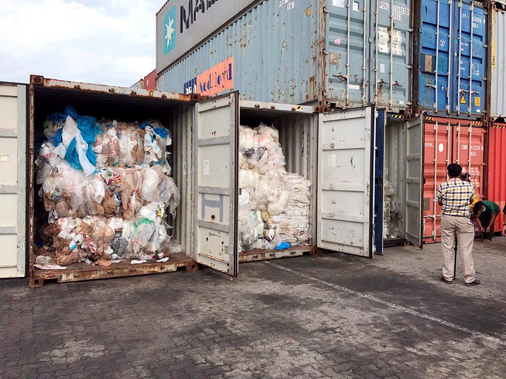 Cambodia says 11 containers of Canadian trash among illegal garbage