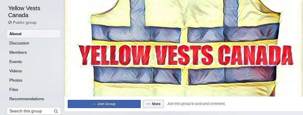 Why isn't Facebook taking Yellow Vests Canada seriously?