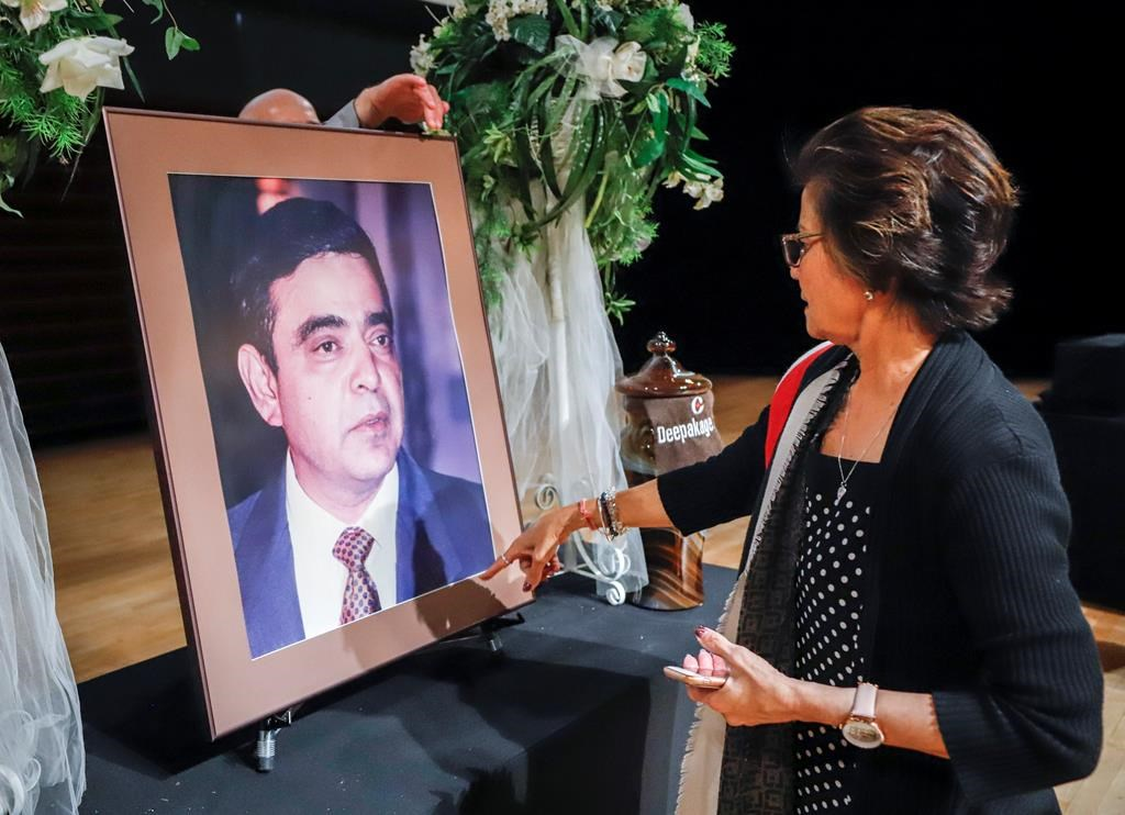 'He lived the Canadian immigrant dream:' Memorial for MP Deepak Obhrai