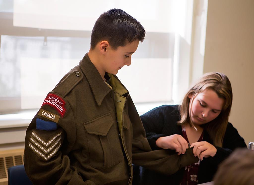 Schools can borrow Second World War artifacts through Canadian War