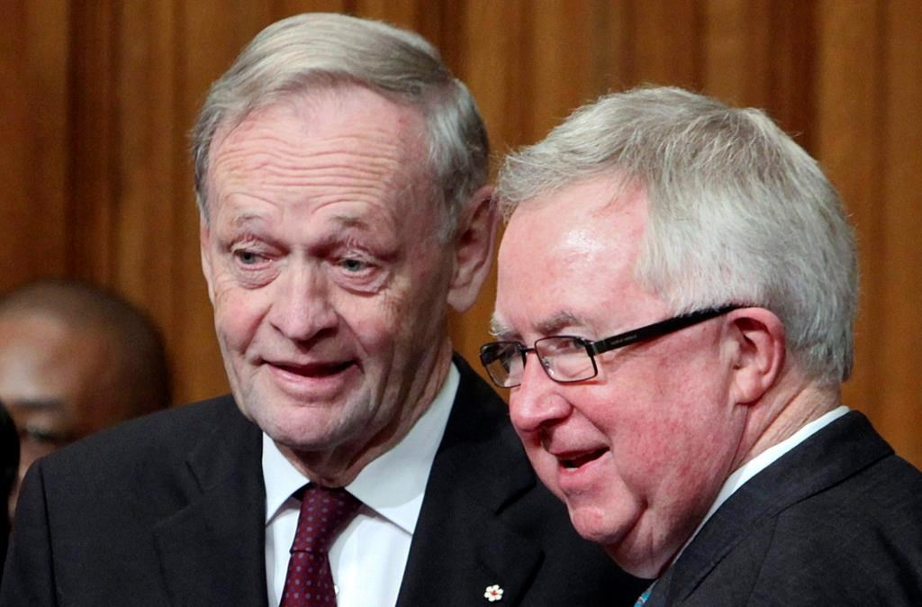 Chretien, Clark help represent government at UN during federal