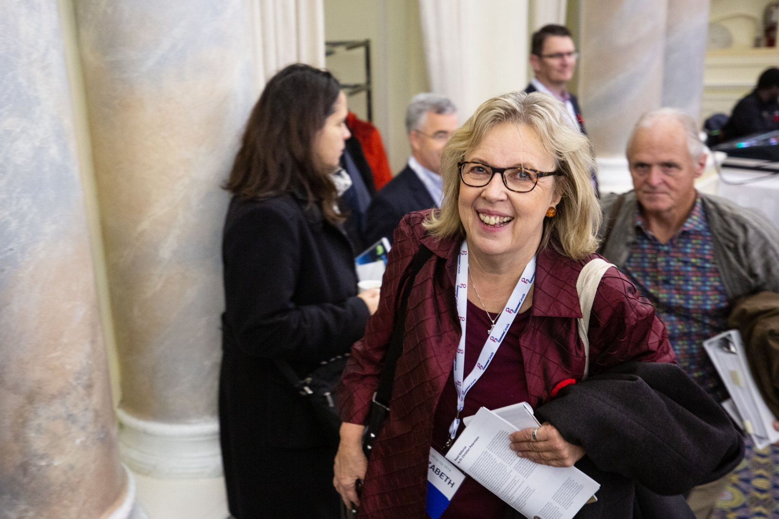 Elizabeth May: 'I will work with MPs willing to eliminate fossil