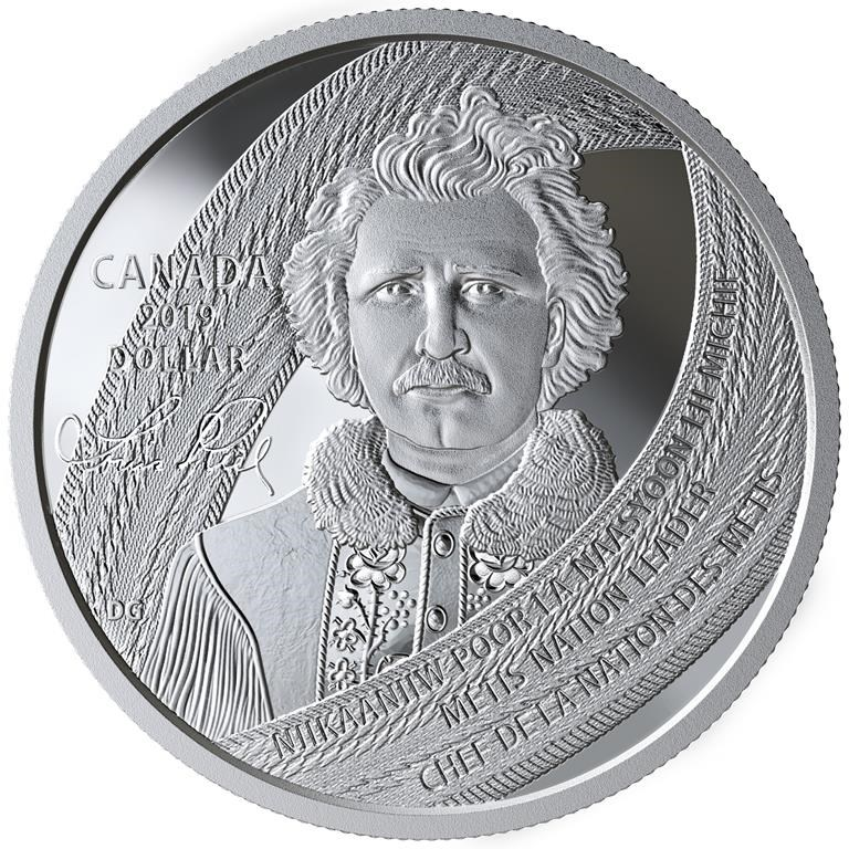 Mint's new coin honours founder of Manitoba and Metis leader Louis