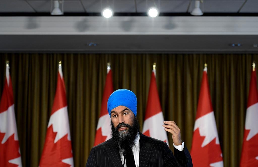 Singh calls for reform of 'broken' voting system after NDP falls