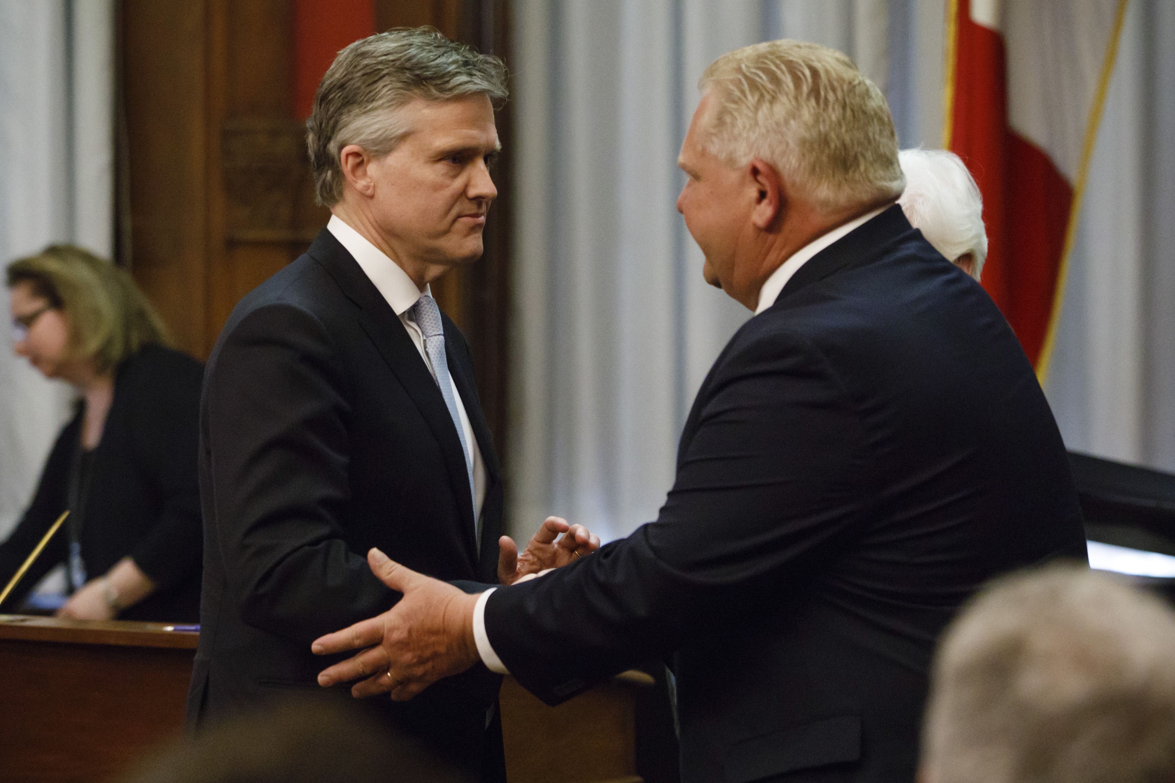 Doug Ford government pauses spending cuts, proposes tax cut