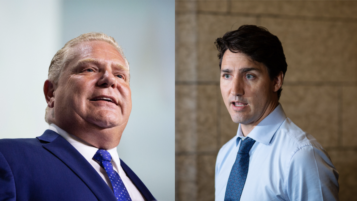Doug Ford ready to talk things over with Justin Trudeau