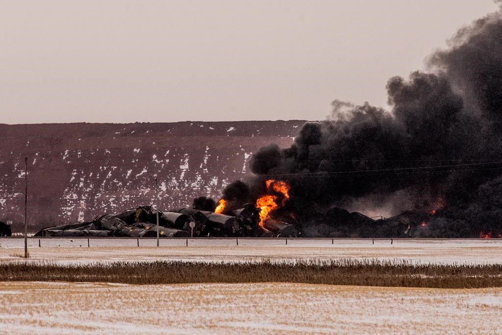 Ottawa easing some speed restrictions put in place after Saskatchewan derailment