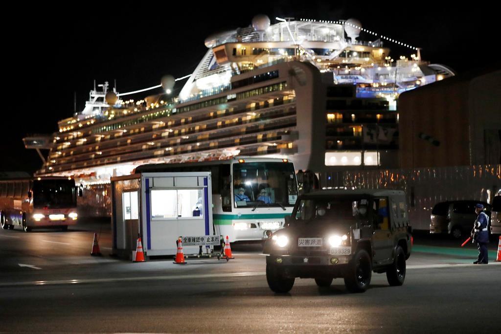 Canadians aboard coronavirus-ridden cruise ship arrive back tonight