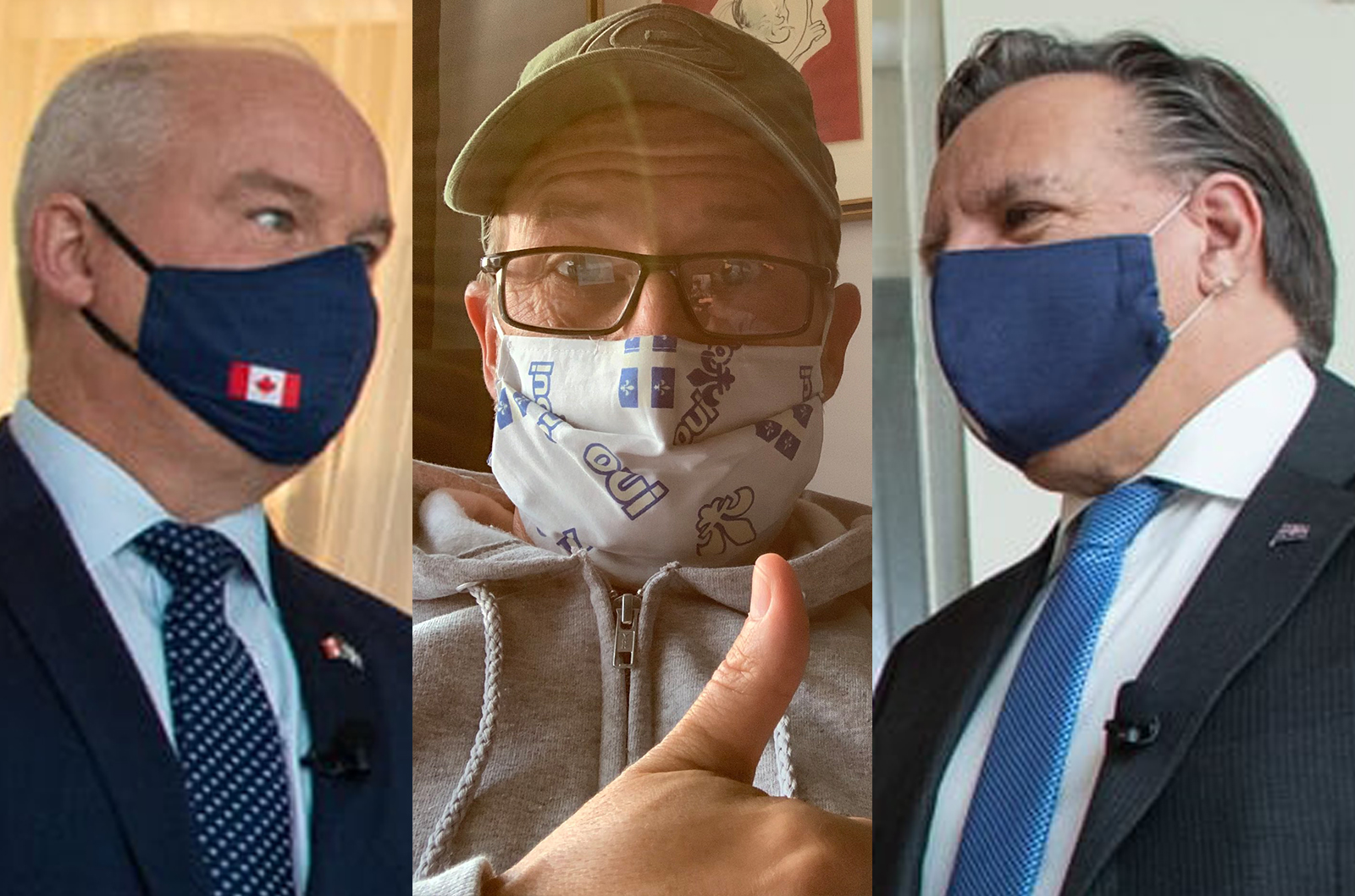 Conservative, Bloc leaders both test positive for COVID-19, Quebec premier in isolation