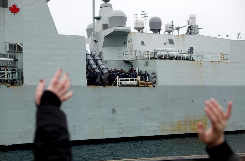 Canadian warship's passage through sensitive strait near China was monitored by top officials