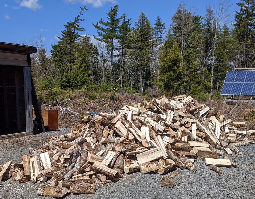 In praise of chopping firewood