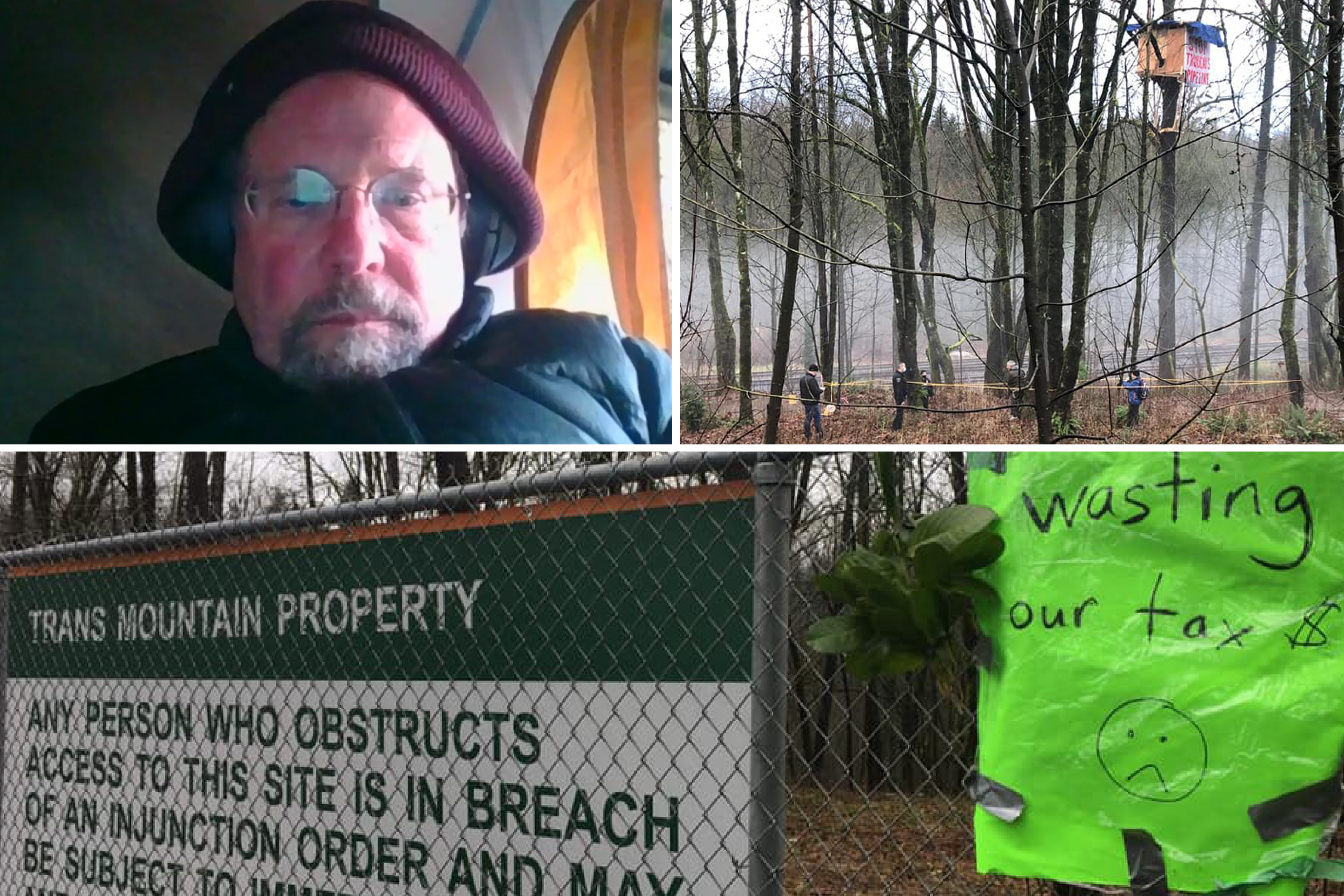 Physician challenges Trans Mountain pipeline in court after protest site demolished