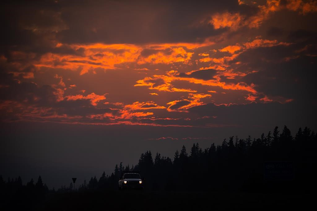 Western Canadian fires are creating own weather systems