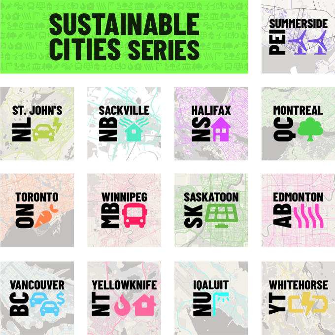 Sustainable Cities series