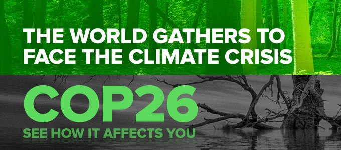COP26: The world gathers to face the climate crisis