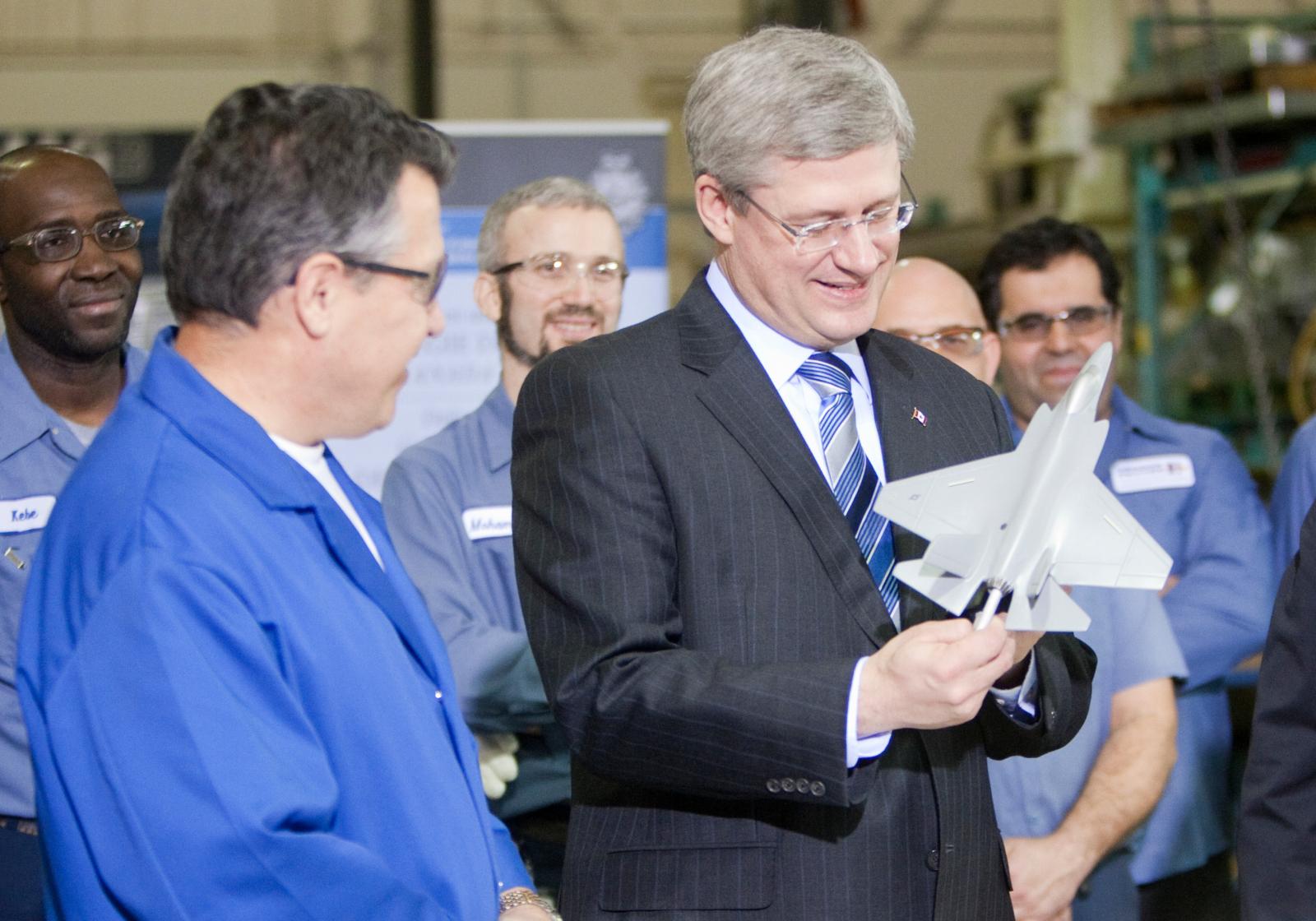 Prime MInister Harper, Canadian politics, F-35, F-35 scandal