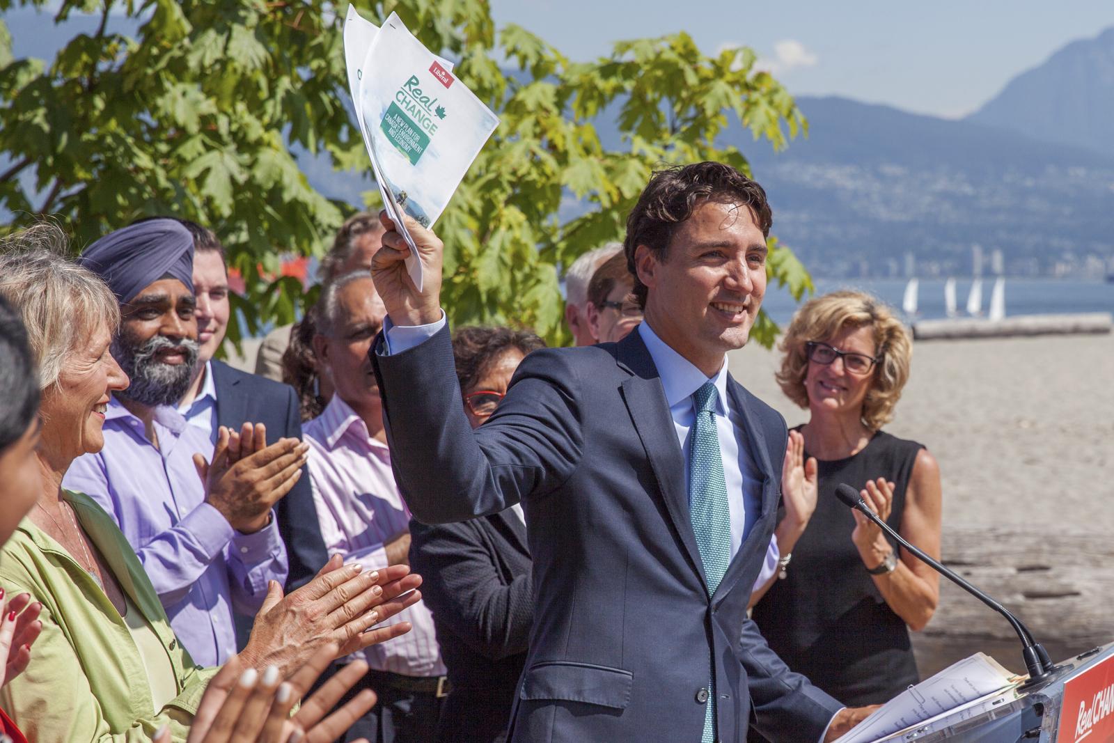 Justin Trudeau Vancouver - Mychaylo Prystupa - National Observer