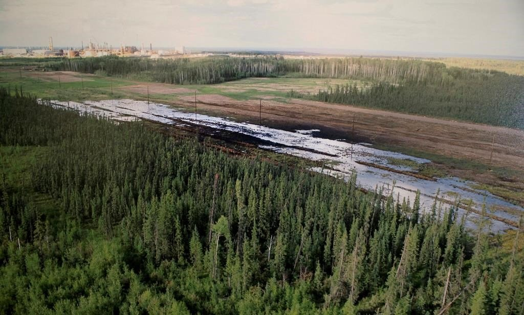Nexen oil spill Long Lake operation aerial - National Observer