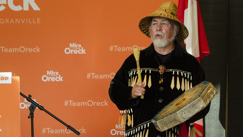 Bob Baker, Mira Oreck, Vancouver Granville, federal election