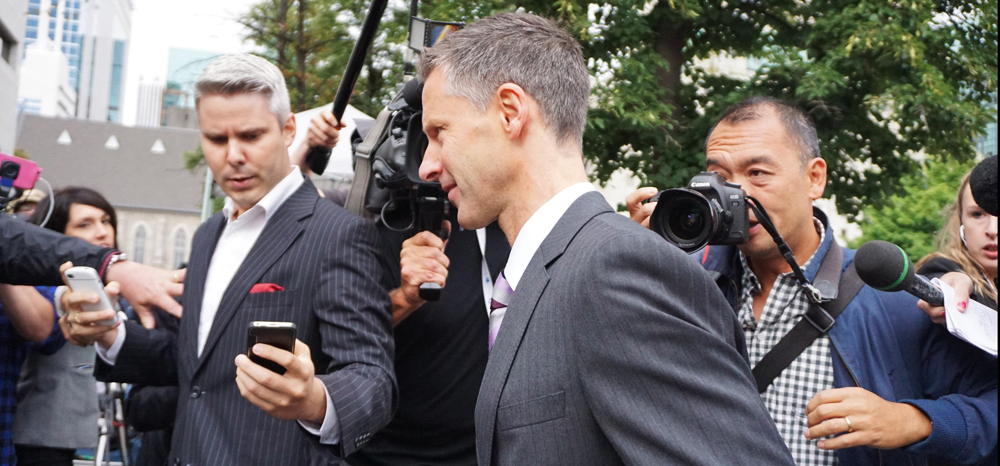 Nigel Wright, star witness at the Duffy trial. Elizabeth McSheffrey photo
