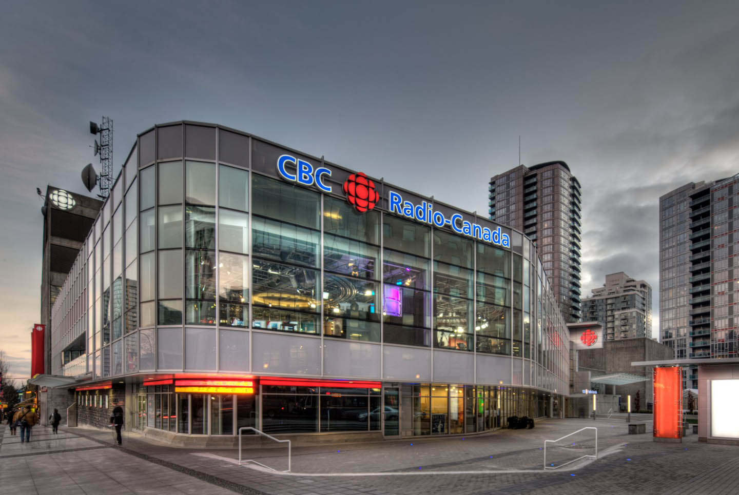 CBC state-of-the-art Broadcast Centre - Vancouver - CBC