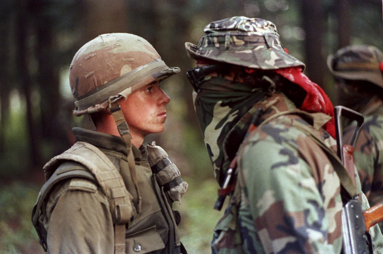 Oka crisis Quebec Mohawk warrior Canadian soldier - CP