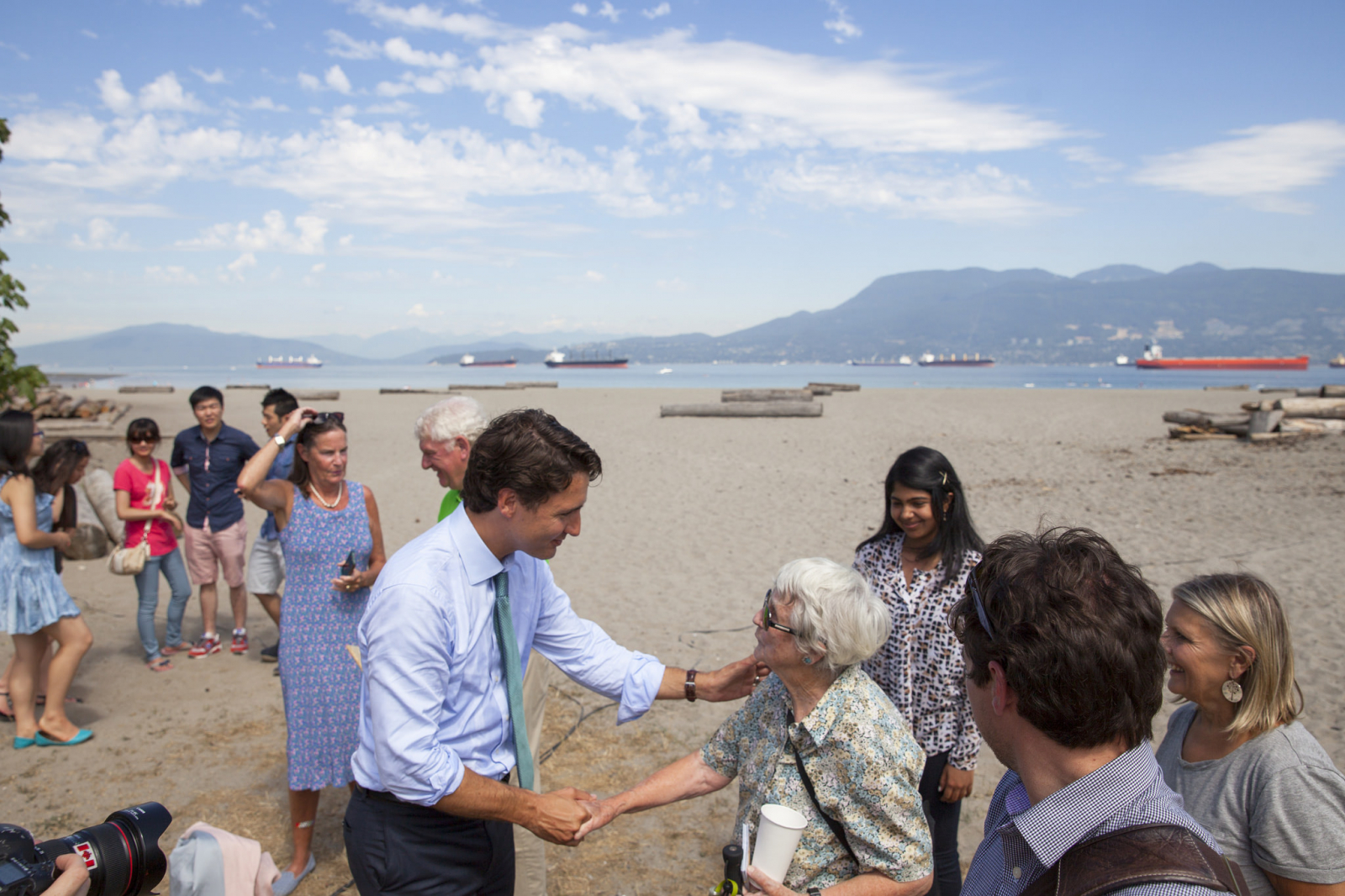 Justin Trudeau environment policy platform announcement Vancouver —Mychaylo Prystupa