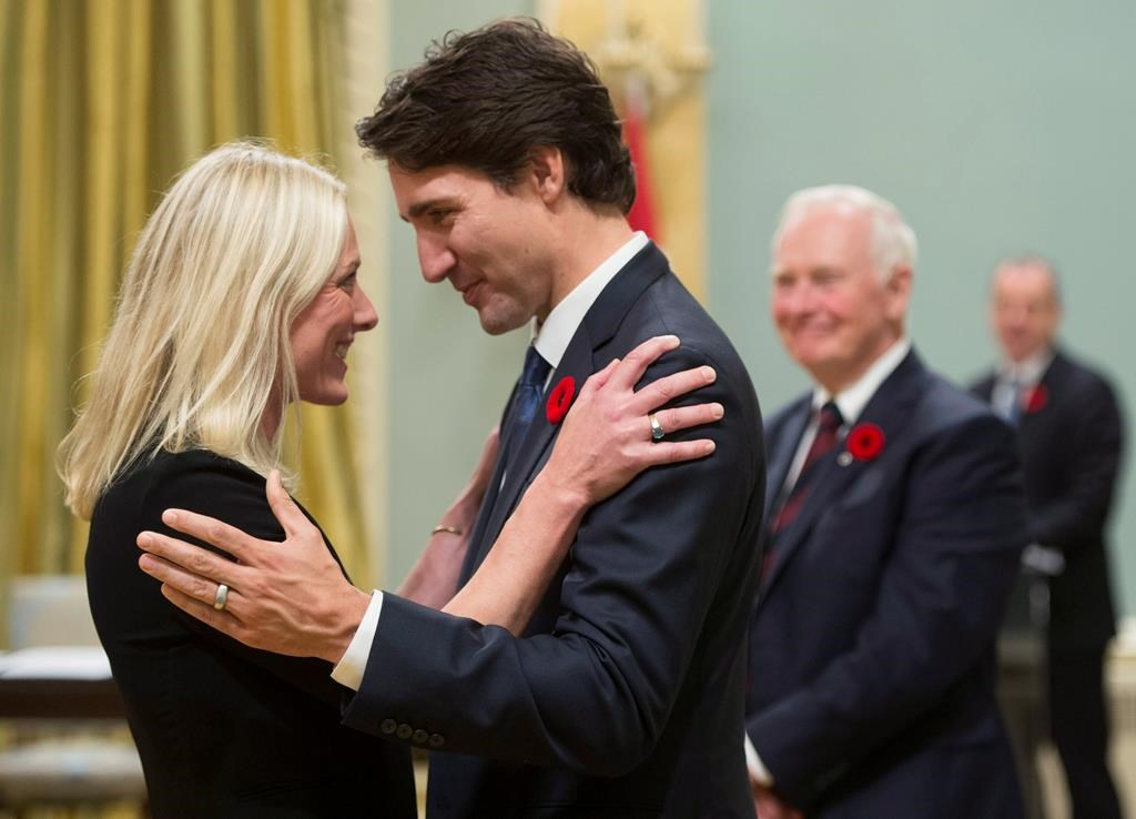 Canada environment minister Catherine McKenna swearing in - CP