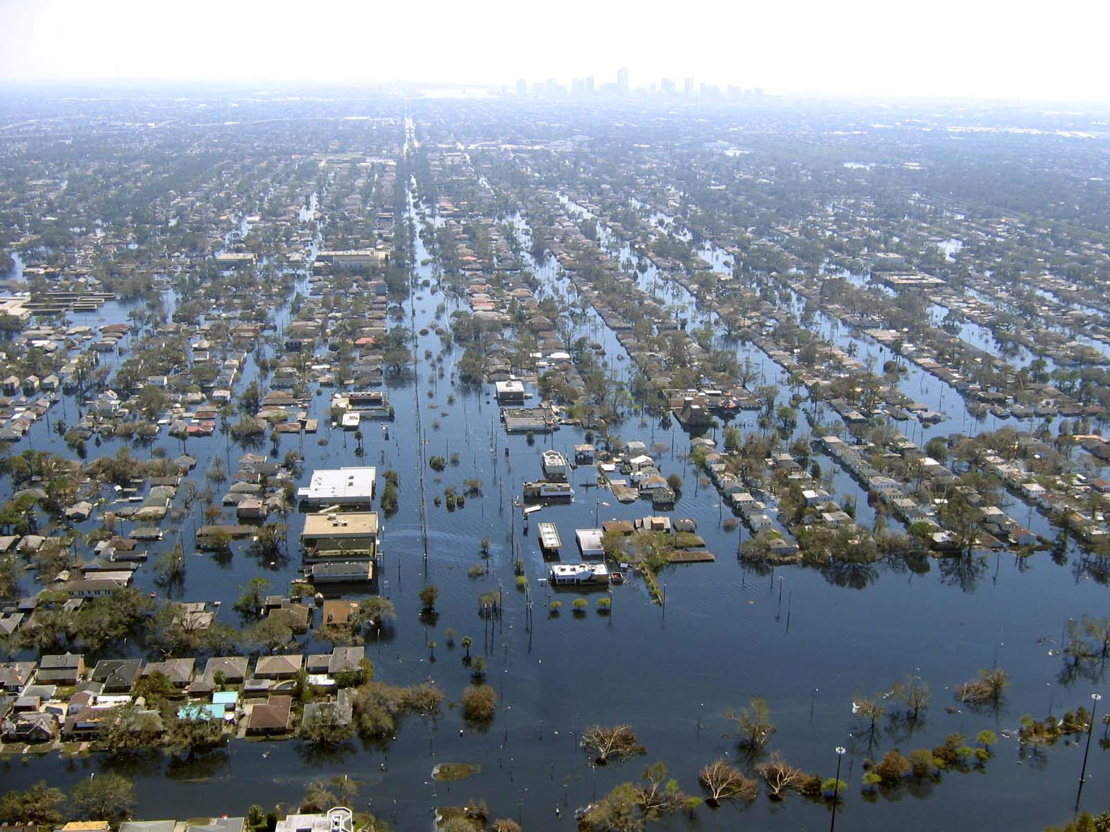 Hurricane Katrina flooding Louisiana