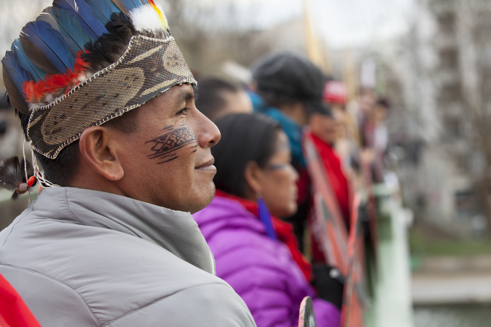 amazon_indigenous_leader_at_paris_climate_rally_downtown_paris_-_mychaylo_prystupa