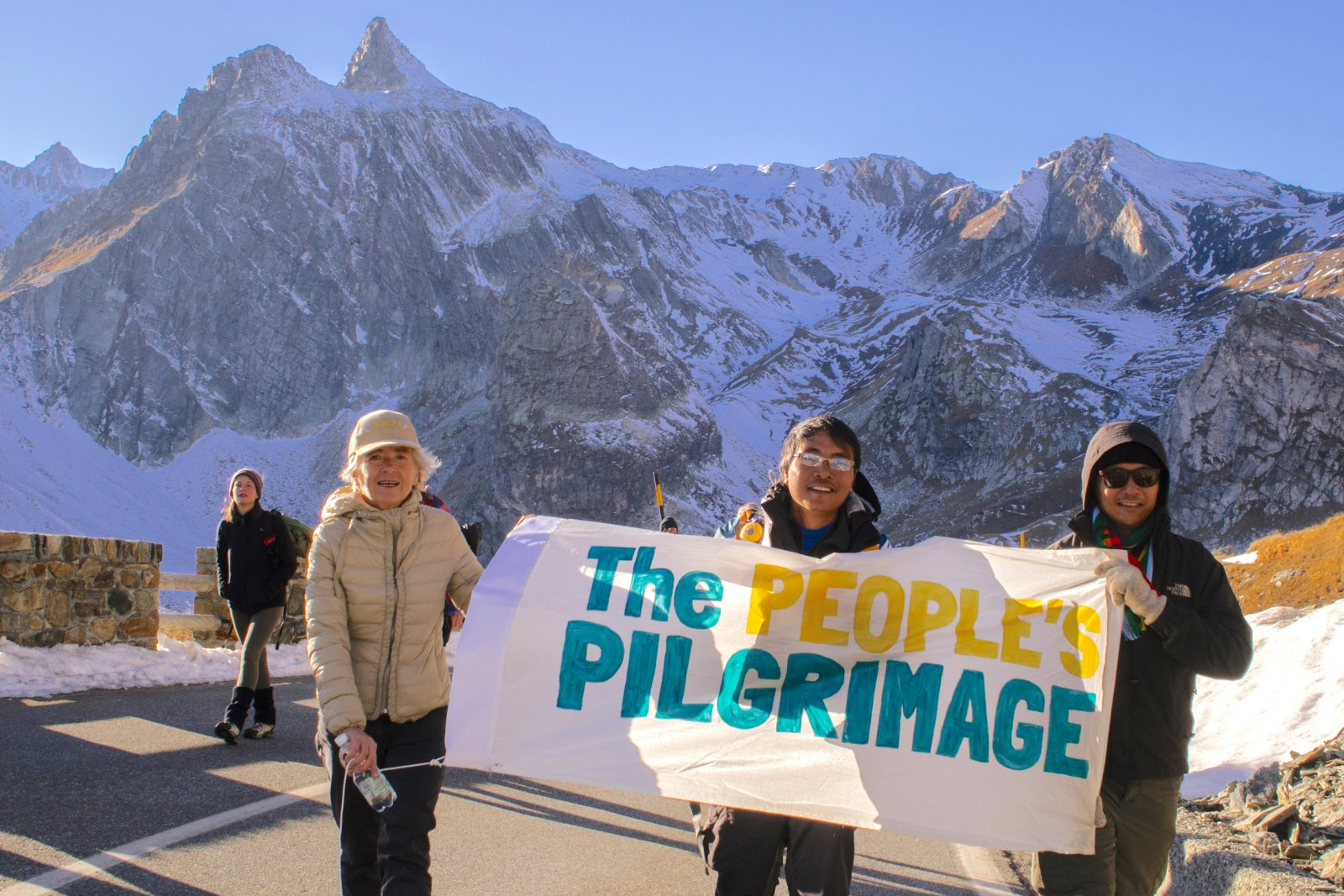 People's Pilgrimage Swiss Alps Yeb Sano