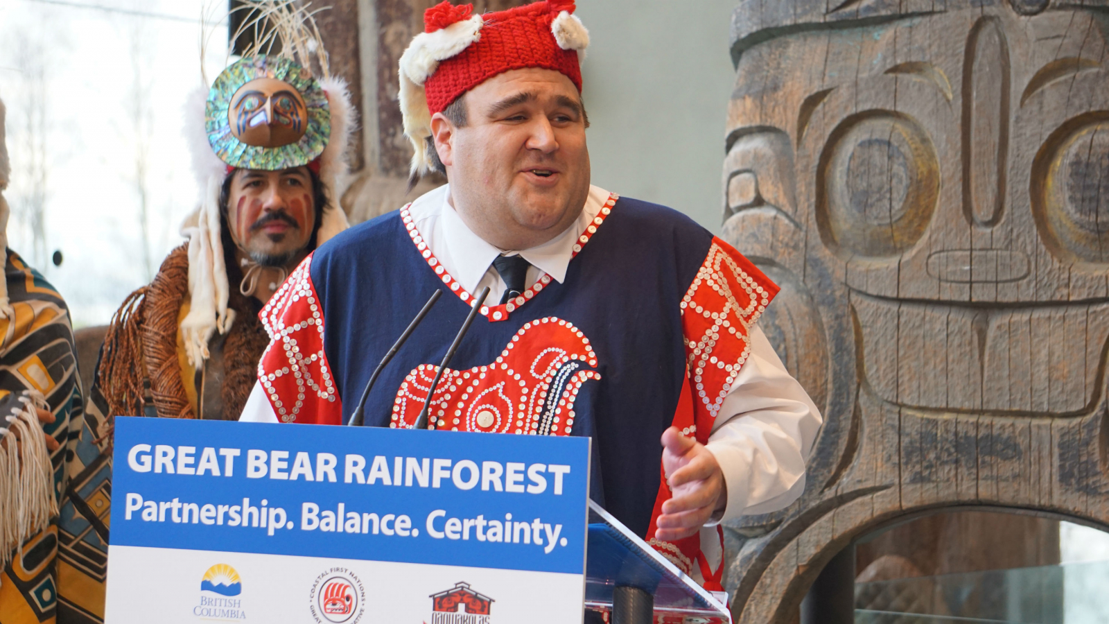 Dallas Smith, Nanwakolas Council, Great Bear Rainforest, First Nations