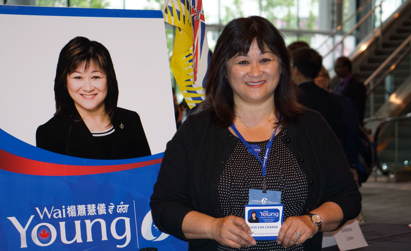 Wai Young, Vancouver South, Conservative Convention, Stephen Harper, National Council
