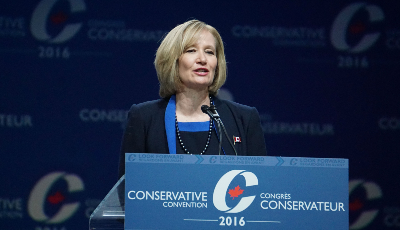 Laureen Harper, Stephen Harper, Maple Leaf Awards, Conservative Convention