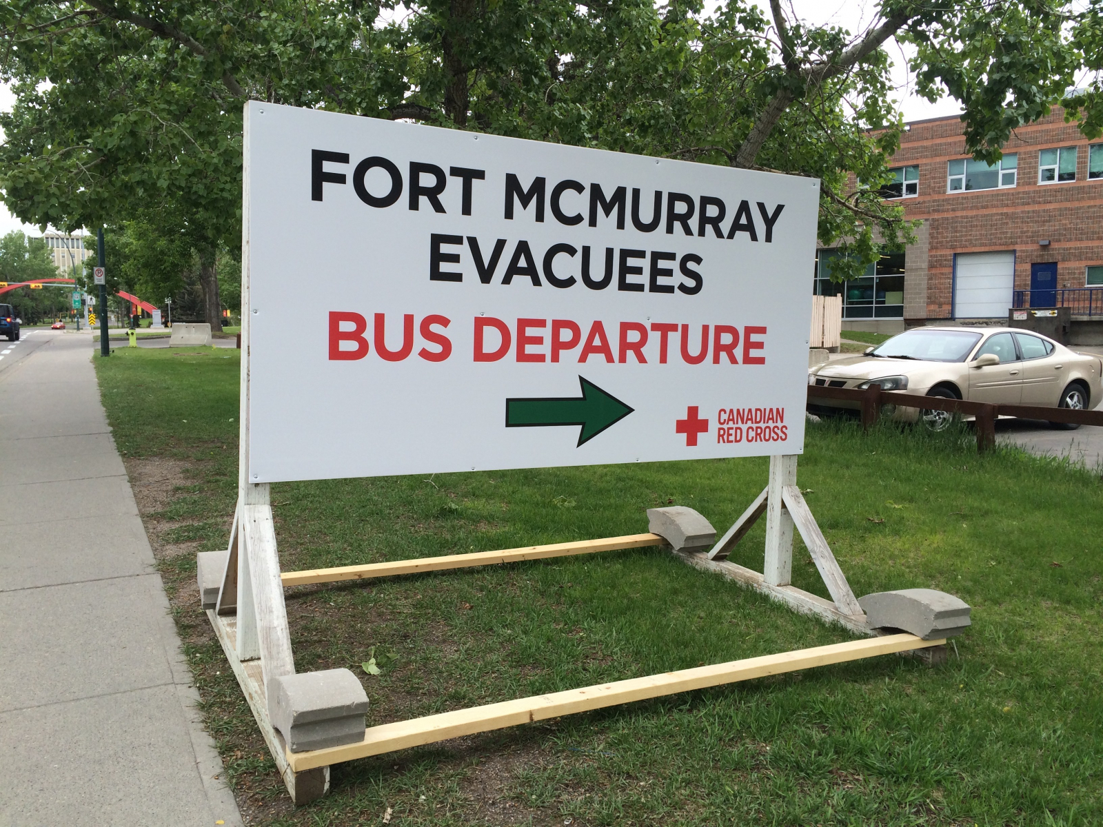 Fort McMurray, evacuees, wildfire, University of Calgary, reception centre