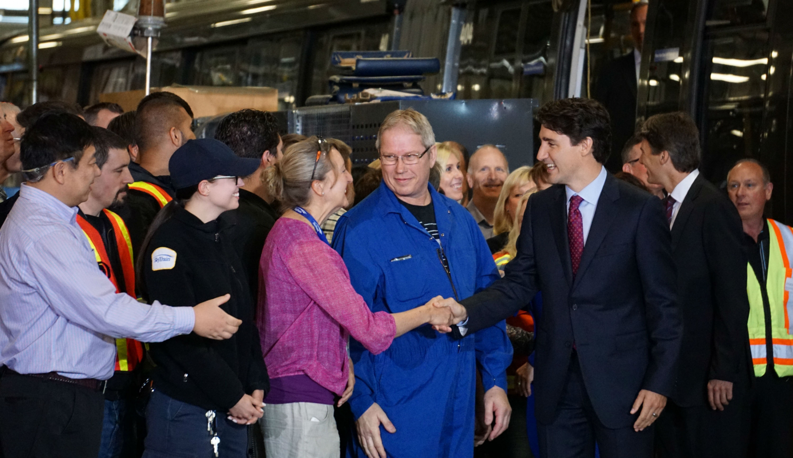 Justin Trudeau, Prime Minister, TransLink, SkyTrain, infrastructure, transit, investment, Vancouver