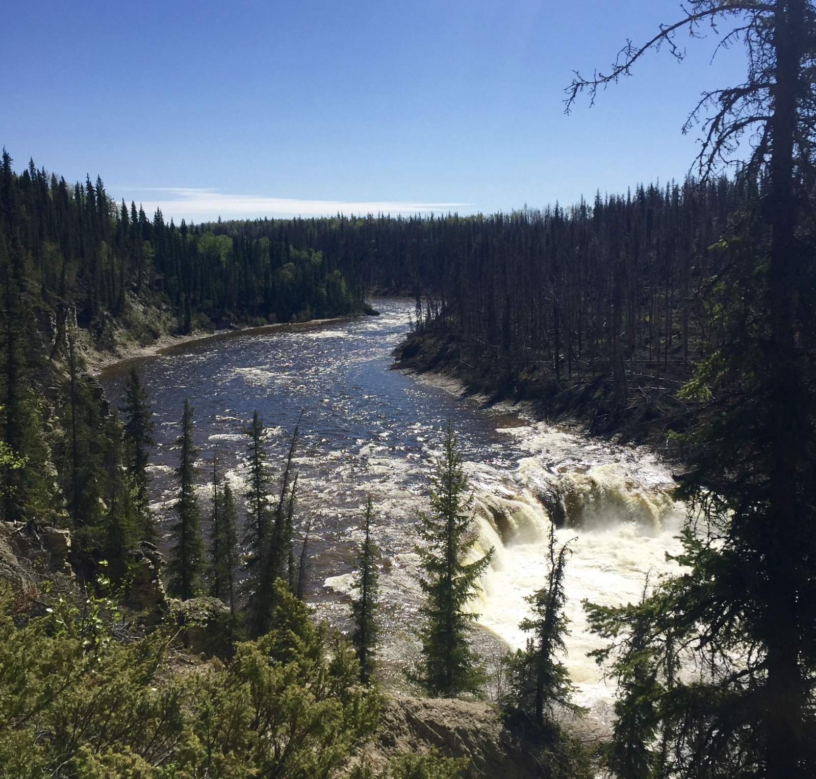 Northwest Territories, Coral Falls, Dehcho First Nations, Sambaa Deh, Trout River