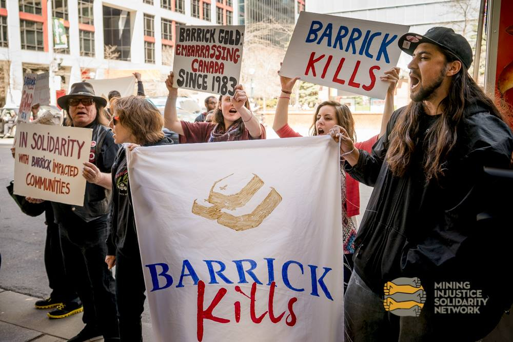 Barrick Gold, Protest, Pascua Lama, Veladero