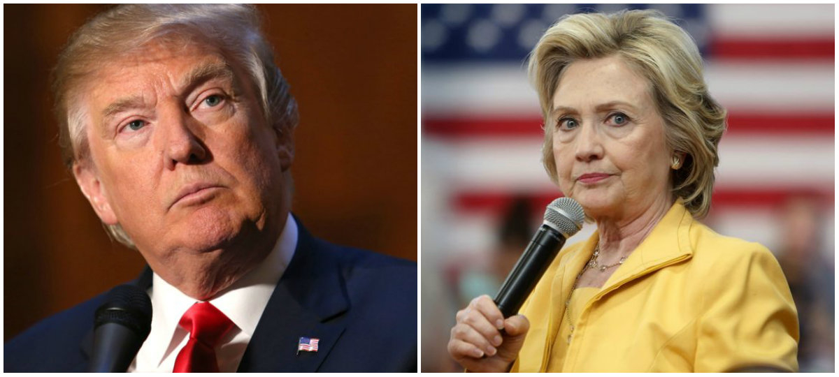 Hillary Clinton, Donald Trump, Democrats, Republicans, U.S. presidential election